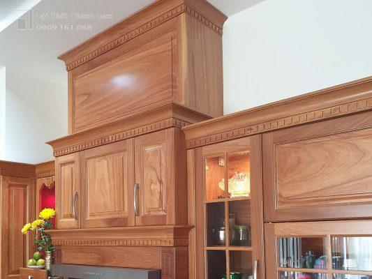 phòng ngủ nội thất gỗ gõ đỏ