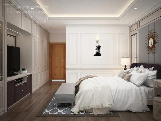 phòng ngủ tân cố điển quận 2