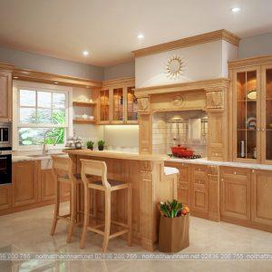 tủ bếp cổ điển pelmeni