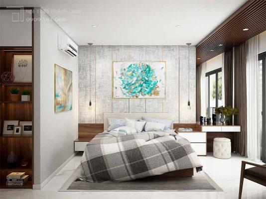 phong cách phòng ngủ hiện đại