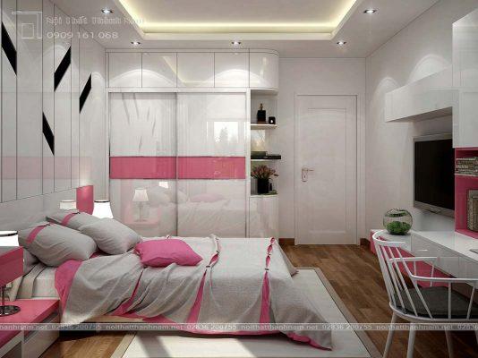 phòng ngủ hiện đại Lotus